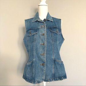 Vintage 90's jean vest